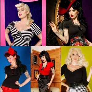 ISO Deadly Dames tops.